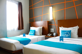 Airy Cicendo Pasirkaliki 53 Bandung Bandung - Standard Twin Room Only Regular Plan