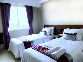 Hotel Amantis Demak - Budget Twin Room Only Regular Plan