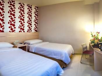 Cordela Hotel Medan - Kamar Deluxe Twin Regular Plan