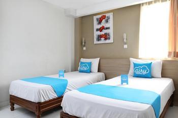 Airy Eco Bandara Soekarno-Hatta Suryadarma 56 Tangerang - Standard Twin Room Only Regular Plan