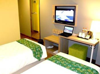 Pesonna Hotel Tegal Tegal - Deluxe Twin Room Non Smoking Regular Plan
