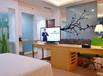 Santika BSD Tangerang Selatan - Superior Room Twin Offer 2020 Last Minute Deal 2021