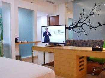 Santika BSD Tangerang Selatan - Suite Room King Offer 2020 Last Minute Deal 2021
