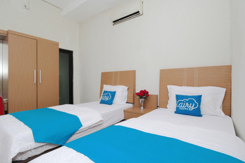 Airy Syariah Panakkukang Urip Sumoharjo 60 Makassar - Standard Twin Room Only Regular Plan