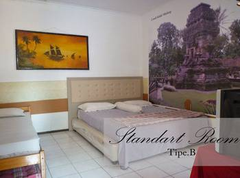 Jonas Homestay Malang - Standard Room Breakfast Basic Deal 40%