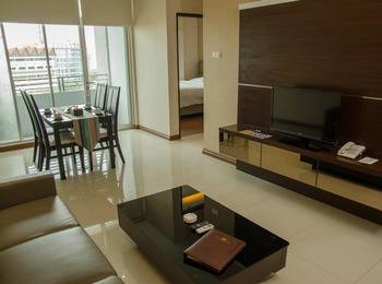 Royal Suite Condotel Medan - Emerald Unit (2 KAMAR) Regular Plan
