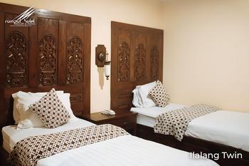 Rumput Hotel Yogyakarta - Ilalang Twin Room Only Regular Plan