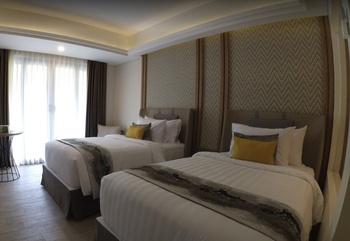 Amarsvati Luxury Resort Condotel & Villas Malimbu Lombok Lombok - Premiere Room Twin or Double Mountain  Regular Plan
