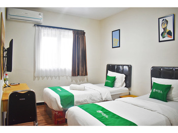 Bima Guest House Malang - Standard Twin Room (Hanya Kamar) Always On