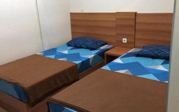 100 Meters Toll Access Kopo Hostel Bandung - Deluxe Twin Room Regular Plan