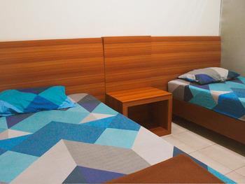 100 Meters Toll Access Kopo Hostel Bandung - Economy Twin Room Regular Plan