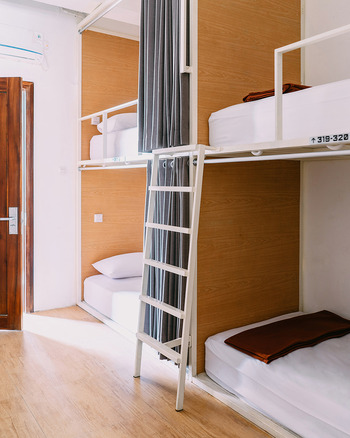 So Boutique Hostel Malang - 4 travelers in Mixed Dormitory (Price per 4 person) Regular Plan
