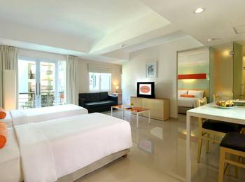 HOTEL & RESIDENCES Riverview Kuta - Bali (Associated HARRIS) Kuta - HARRIS Family Room Only Early Bird 3D