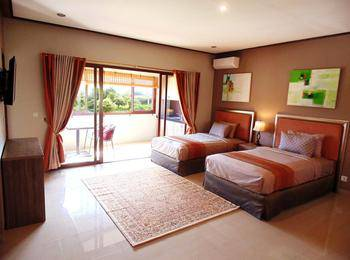 Puri Sabina Bed and Breakfast Bali - Deluxe Twin Room Regular Plan
