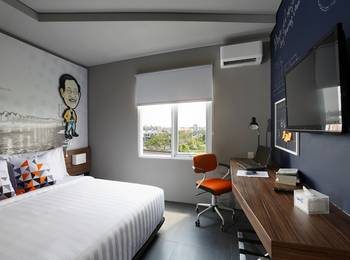 Berry Biz Hotel Bali - Urban Deluxe Room Breakfast Twin/Double Bed Promo PDKT