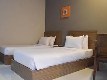 Hotel Sonic Semarang - Express Twin Sharing Bed - Room Only Regular Plan