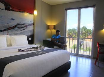 Loft Legian Bali - Deluxe Room with Refreshment Last Minute 60%