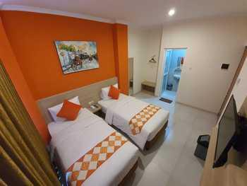 LUVIDO Residence Semarang Semarang - Deluxe Twin Regular Plan