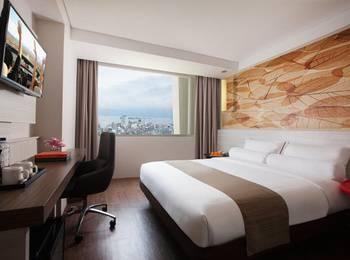Citadines Royal Bay Makassar Makassar - Studio Deluxe Double Room Only  Regular Plan