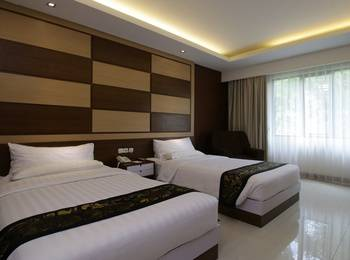 Bumi Katulampa - Convention Resort Bogor - Deluxe Twin Room Only PROMO GAJIAN