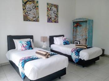Dejavu Hotel Gili Trawangan Lombok - Standard Twin Room Regular Plan