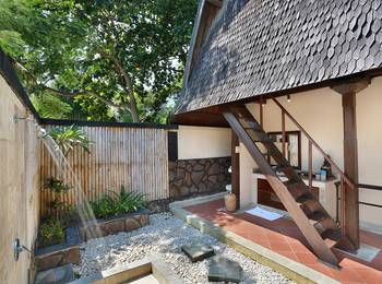 Hotel Villa Ombak Lombok - Traditional Lumbung Hut Low Season Disc 45% OFF