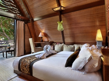 Hotel Villa Ombak Lombok - Traditional Lumbung Hut Promo Long Stay! Min Stay 3 Night