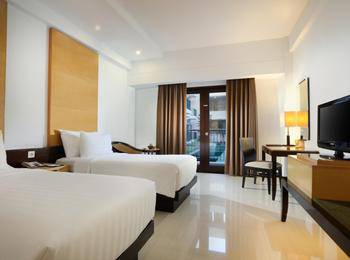 Hotel Santika Premier Malang - Deluxe Room Twin Staycation Offer Room Only Regular Plan