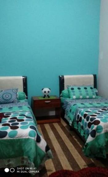 Nasyauqi Guesthouse Batu Bara - Budget Twin Room Regular Plan