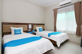 Airy Eco Syariah Martapura Ahmad Yani 22 Banjar - Blue Safir Twin Room Only Regular Plan