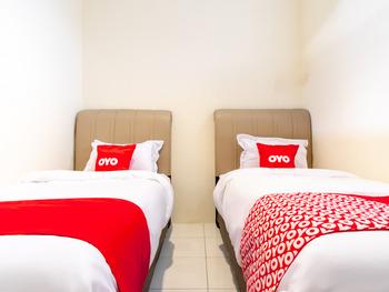 OYO 1634 Dom Residence Medan - Standard Twin Room Regular Plan