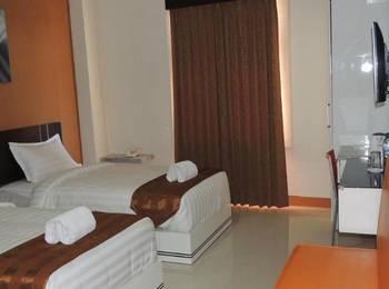 Hotel Grand Mulia 786 Makassar - Deluxe Twin Room Regular Plan