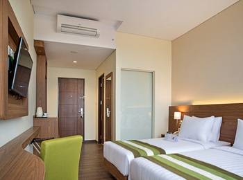 Grand Whiz Poins Simatupang Jakarta Simatupang - Deluxe Twin Room Only MINIMUM STAY PROMO