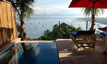 Lembongan Sanctuary Villas Bali - One Bedroom Villa - Lantai Bawah Regular Plan