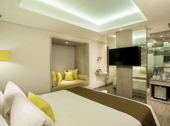 Hotel Zia Bali - Seminyak Bali - Sincerity Room - Room Only Regular Plan