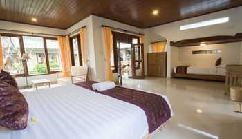 Ketut's Place Villas Ubud Bali - Family Suite Room Last Minute