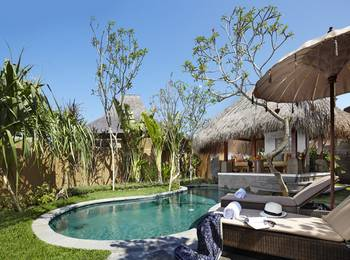 Waka Gangga Resorts Bali - Villa with Pool Garden View Basic Deal Discount 40%