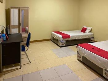 RedDoorz @ Jalan Morotai Lampung Lampung - RedDoorz Twin Room Regular Plan