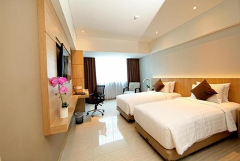 Grand Tjokro Bandung - Deluxe Twin Room Only Regular Plan