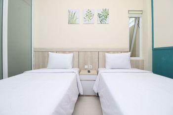 3C Residence Tangerang - Standard Twin Room Only Regular Plan