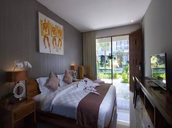 Abian Harmony Hotel Bali - Deluxe Pool Side Basic Deal Discount 15%