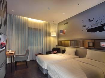 Cabin Hotel Jakarta - Deluxe Twin Regular Plan