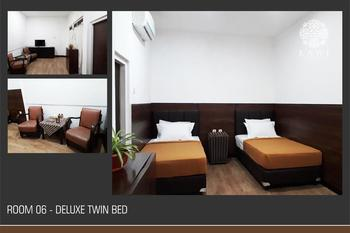 Kawi Guesthouse Malang - Deluxe Twin Room Regular Plan