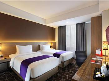 Swiss-Belinn Tunjungan Surabaya - Deluxe Twin Room Only Stay Deal & Save 10%