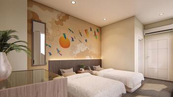 Hotel 88 Alun Alun Bandung - Executive Twin Regular Plan
