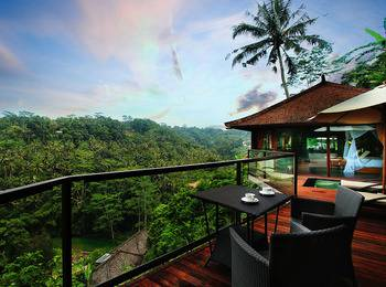 Kupu Kupu Barong Villas Bali - River View Pool Villa BEST DEAL 15%