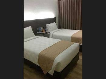 Yunna Hotel Bandar Lampung - Superior Twin Room Regular Plan