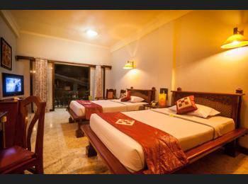 Melasti Kuta Bungalows & Spa Bali - Kamar Superior, 2 kamar tidur, kamar terhubung