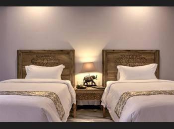 Svarga Loka Resort Bali - Deluxe Room with Daily Yoga Hemat 54%