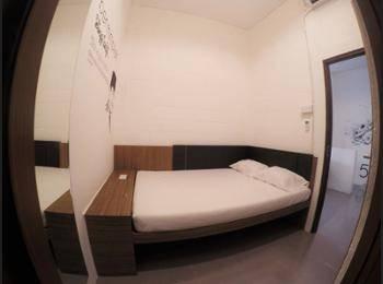 The Packer Lodge Yogyakarta - Hostel Yogyakarta - Kamar Double Deluks, kamar mandi pribadi Hemat 20%
